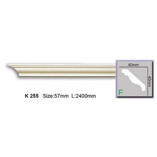 Плинтус потолочный полиуретановый 2400х40х40 купить наливной пол пу-555